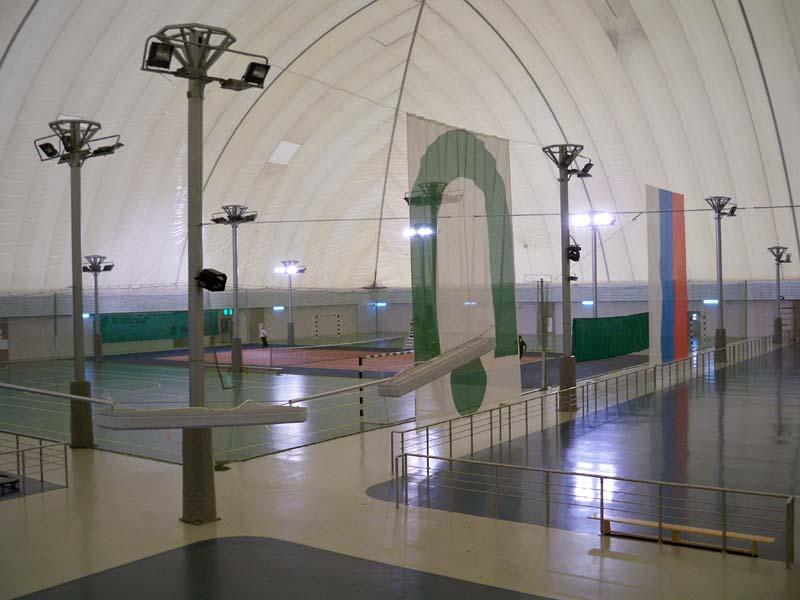 воздухоопорный купол